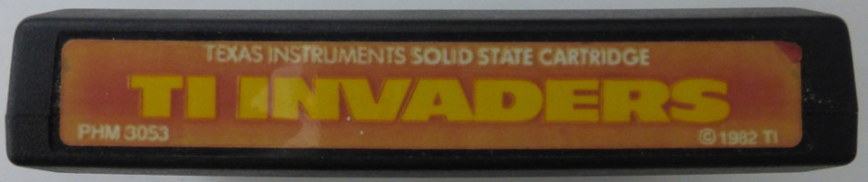 TI INVADERS (Texas Instruments)(1982)