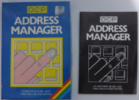 ADDRESS MANAGER (Spectrum)(1983)