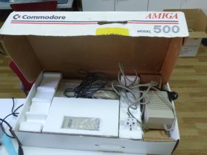Commodore Amiga 500 en caja