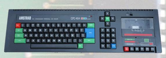 Ficha: Amstrad CPC 464 (1984)