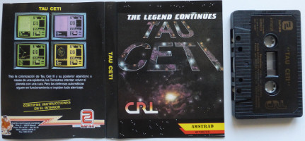 TAU CETI (Amstrad CPC)(1989)
