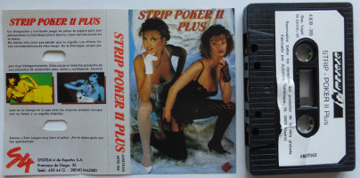 STRIP POKER II PLUS (Amstrad CPC)(1988)