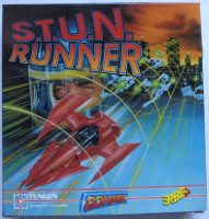 S.T.U.N. RUNNER (Amstrad CPC)(1990)