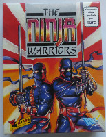 THE NINJA WARRIORS (Amstrad CPC)(1990)