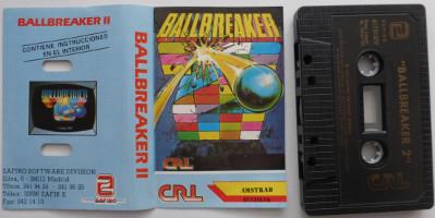 BALLBREAKER II (Amstrad CPC)(1988)