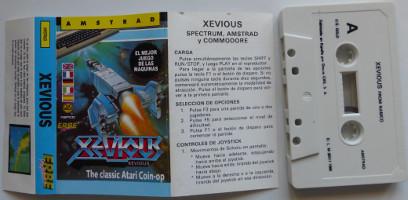 XEVIOUS (Amstrad CPC)(1986)