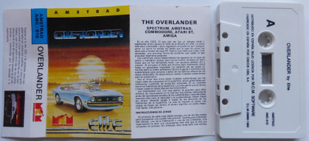 OVERLANDER (Amstrad CPC)(1988)