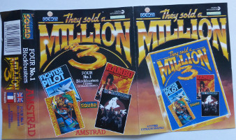 THEY SOLD A MILLON #3: FIGHTER PILOT, RAMBO FIRST BLOOD PART II (1985 OCEAN SOFTWARE), KUNG-FU MASTER (1986 U.S.GOLD), GHOSTBUSTERS (1984 – ACTIVISON) (Amstrad CPC)(1986)