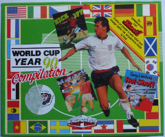WORLD CUP YEAR 90 COMPILATION: KICK OFF, GARY LINEKERS HOT-SHOT!, TRACK SUIT – MANAGER (Amstrad CPC)(1989)