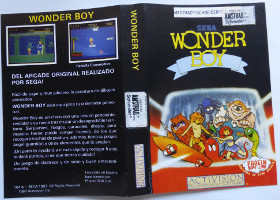 WONDER BOY (Amstrad CPC)(1987)