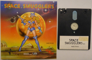 SPACE SMUGGLERS (Amstrad CPC)(1989)