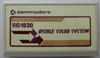 VISIBLE SOLAR SYSTEM (Commodore VIC)(1981)