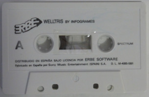 WELLTRIS (Spectrum)(1991)
