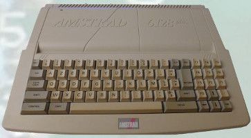 Amstrad 6128 Plus (1990) (ORD.0047.P/Funciona/Ebay/10-12-2016)