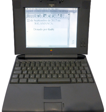 Apple PowerBook 520 (1994) (ORD.0041.D/Funciona/Donado/09-11-2016)