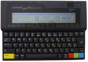 Amstrad NC100 (1992) (ORD.0064.P/Funciona/Ebay/01-03-2018)