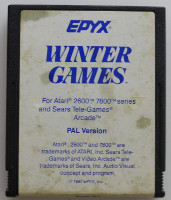 WINTER GAMES (Atari 2600)(1987)