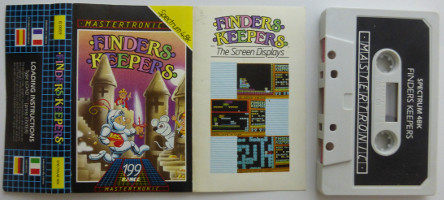 FINDERS KEEPERS (Spectrum)(1985)