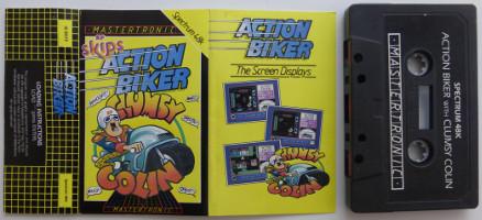 ACTION BIKER (Spectrum)(1985)