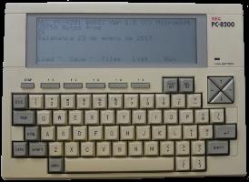 Ficha: NEC PC-8300 (1987)