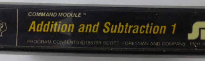 ADDITION AND SUBTRACTION 1 (Texas Instruments)(1981)