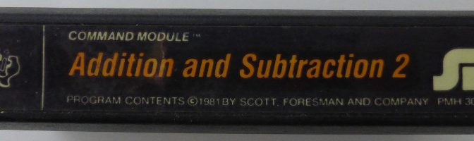 ADDITION AND SUBTRACTION 2 (Texas Instruments)(1981)