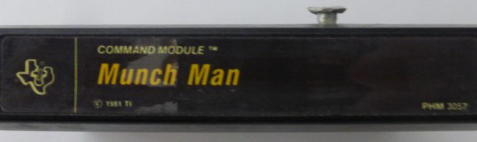 MUNCH MAN (Texas Instruments)(1981)